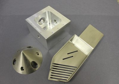 Machined Parts of Various Metals